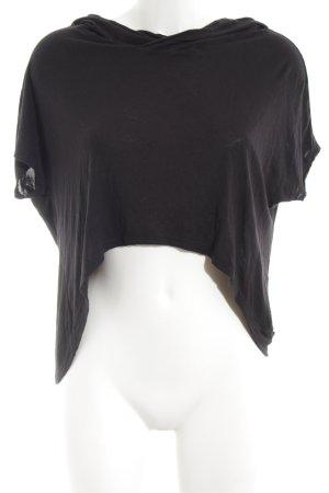 Urban Classics Koszulka z kapturem czarny W stylu casual