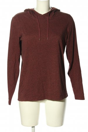 Urban Classics Kapuzensweatshirt braun meliert Casual-Look