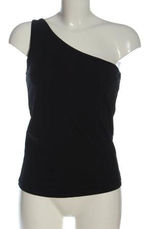 Urban Classics Haut avec une épaule dénudée noir torsades style décontracté