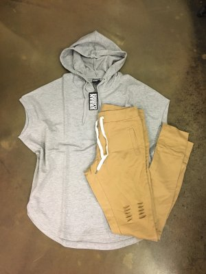 Urban Classics Hooded Sweater light grey-grey