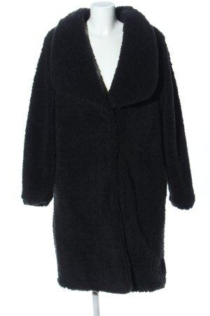Urban Classics Abrigo ancho negro look casual