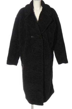 Urban Classics Pelt Coat black