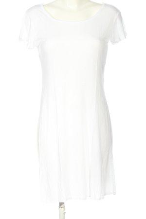 Urban Classics Sukienka o kroju koszulki biały W stylu casual