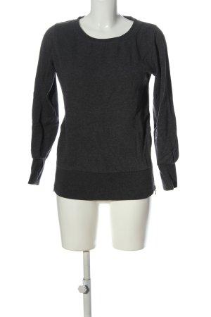 Urban Classics Sweatshirt hellgrau meliert Casual-Look