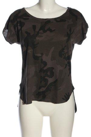 Urban Classics T-shirt marrone-grigio chiaro Motivo mimetico stile casual