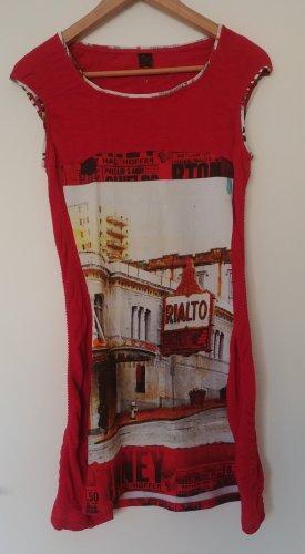 Aventures des Toiles Robe mi-longue multicolore