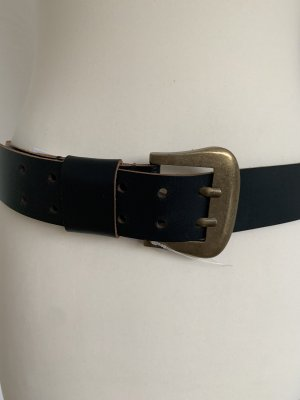 Urban Outfitters Leather Belt black