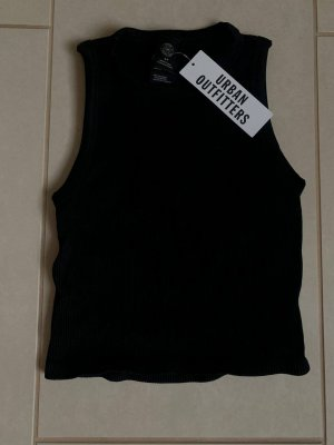 Urban Outfitters Basic Top black