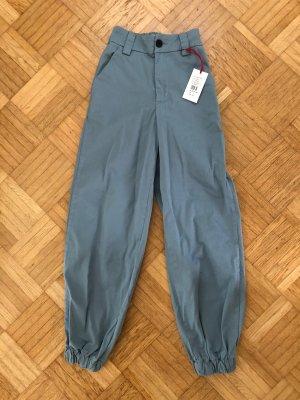 Urban Outfitters Pantalón abombado azul aciano-azul acero