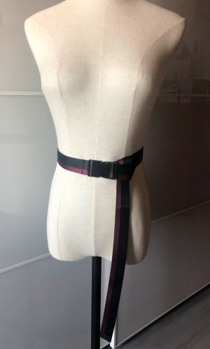 Urban Outfitters Canvas Belt multicolored polyester