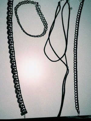Urban Outfitters Necklace black