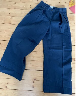 Urban Outfitters Culottes steel blue cotton