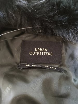Urban Outfitters Manteau à capuche gris anthracite-vert forêt