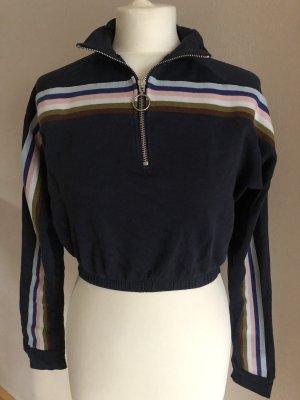 BGD Urban Outfitters Sweatshirt donkerblauw-rosé
