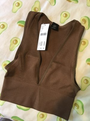 Urban Outfitters Cropped Top brown