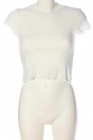 Urban Outfitters Cropped Shirt white casual look