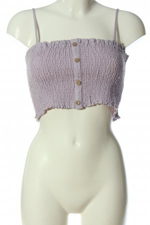Urban Outfitters Cropped Top lilac casual look