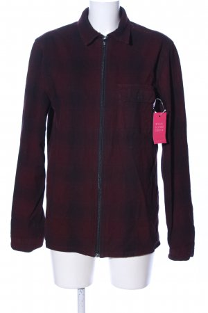 Urban Outfitters Flanellhemd rot-schwarz Casual-Look