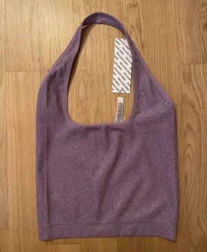 Urban Outfitters Halter Top lilac-lilac