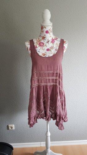 Free People Mini Dress dusky pink-pink