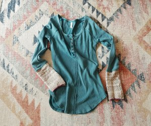 Free People Top à manches longues multicolore