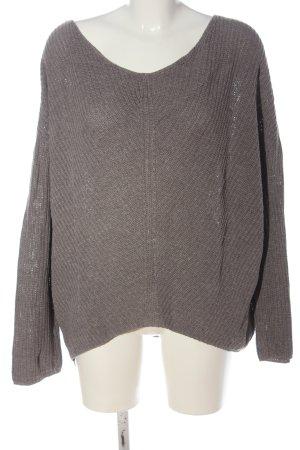 Urban Outfitters Pullover a maglia grossa grigio chiaro stile casual