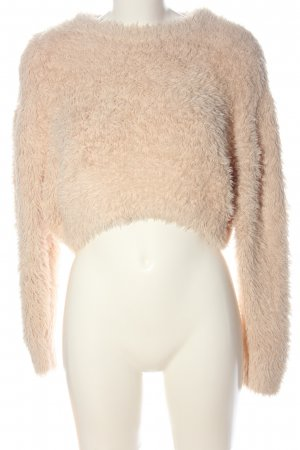 Urban Outfitters Grobstrickpullover nude Casual-Look