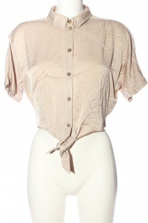 Urban Outfitters Blouse-chemisier crème viscose