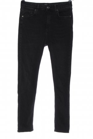 Urban Outfitters High Waist Jeans schwarz Casual-Look