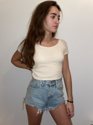 Urban Outfitters Short moulant bleu clair