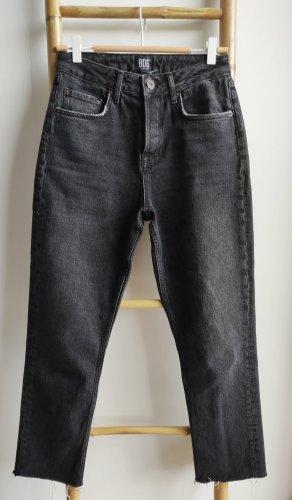 BGD Urban Outfitters Jeans coupe-droite noir-gris foncé