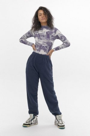 Urban Outfitters Jogginghose Frottee 90s baggy oversize