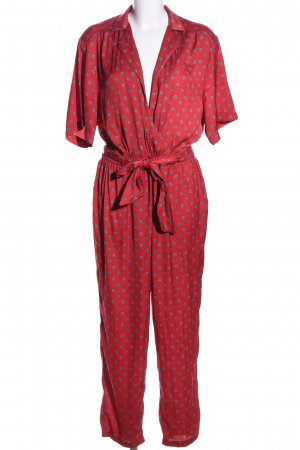 Urban Outfitters Jumpsuit Blumenmuster Business-Look
