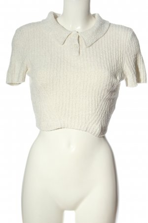 Urban Outfitters Short Sleeve Sweater white casual look