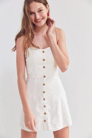 Urban Outfitters Minikleid Weiß XS
