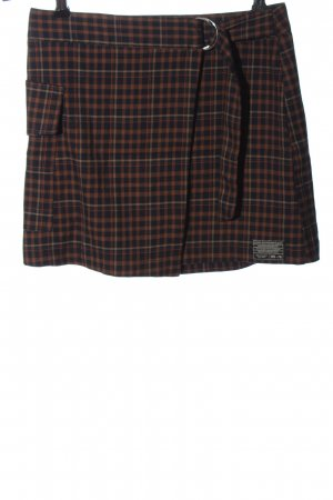 Urban Outfitters Miniskirt brown-black allover print elegant