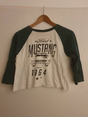 Urban Outfitters Mustang Cropped Baseball Shirt