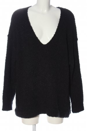Urban Outfitters Oversized Pullover schwarz Casual-Look