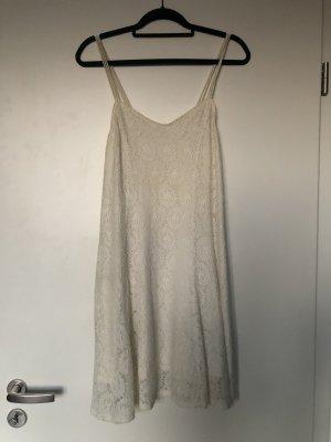 Urban Outfitters Pins & Needles Sommerkleid Spitze weiß