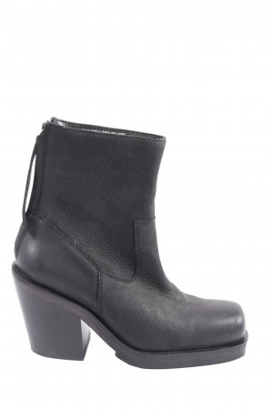 Urban Outfitters Zipper Booties black casual look