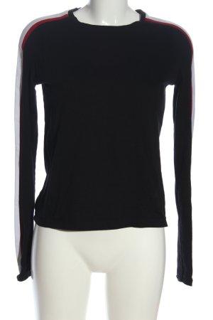 Urban Outfitters Rundhalspullover schwarz-weiß Casual-Look