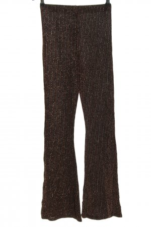 Urban Outfitters Flares black-bronze-colored striped pattern elegant