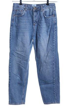 Urban Outfitters Slim Jeans blau Casual-Look