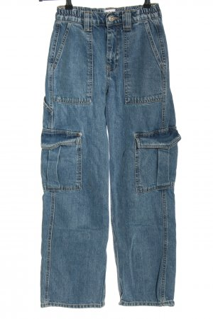 Urban Outfitters Straight Leg Jeans blue casual look
