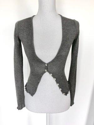 Urban Outfitters Cardigan in maglia grigio-grigio chiaro