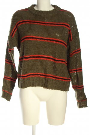 Urban Outfitters Strickpullover Streifenmuster Casual-Look