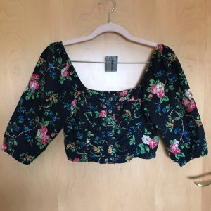 Urban Outfitters Cropped Top multicolored cotton