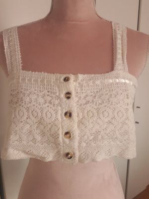 Urban Outfitters Bandeau top wit