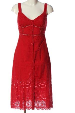 Urban Outfitters Abito scamiciato rosso stile casual
