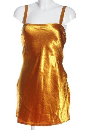 Urban Outfitters Pinafore dress primrose-light orange elegant